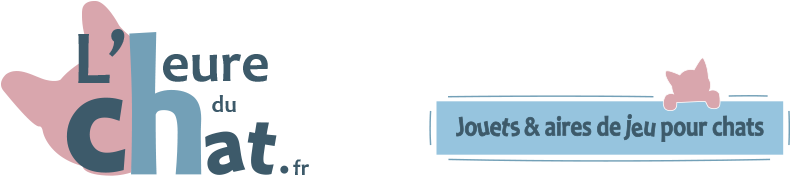Logo et baseline l'Heure du Chat